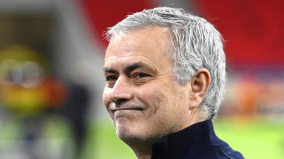 Jose Mourinho Entrenador Roma