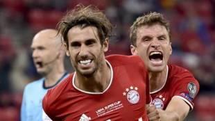 Javi Martínez, jugador del Bayern.