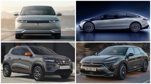 Hyundai Ioniq 5 - Mercedes-Benz EQS - Dacia Spring - Citroën C5 X