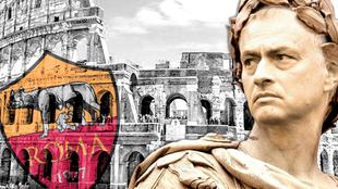 Mourinho y la Roma.