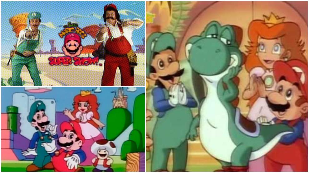 Las series animadas de Super Mario en televisión