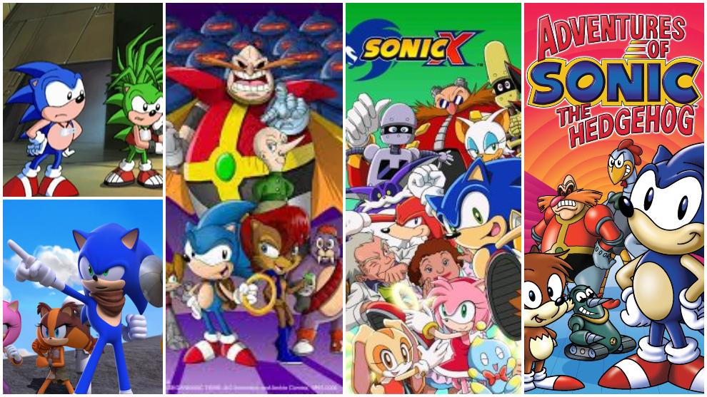 Las series animadas de Sonic en televisión