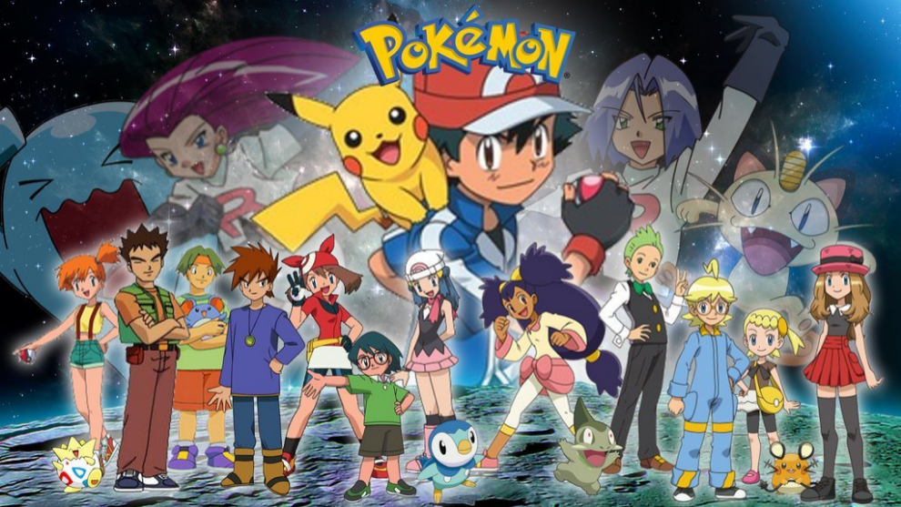 La serie Pokémon para televisión