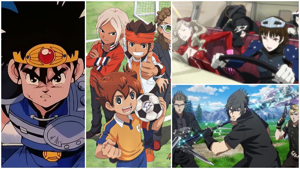 Series de anime basadas en videojuegos