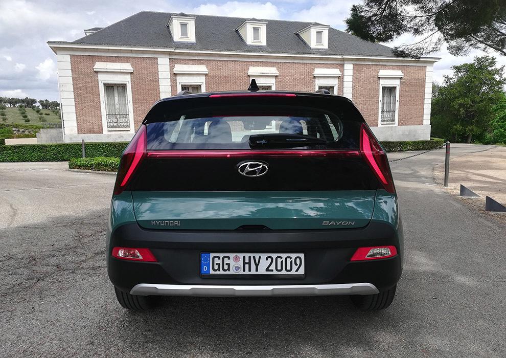 Hyundai Bayon 2021 - prueba - crossover - coche urbano
