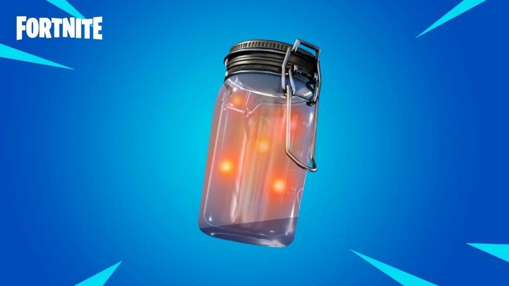 Un frasco de luciérnagas