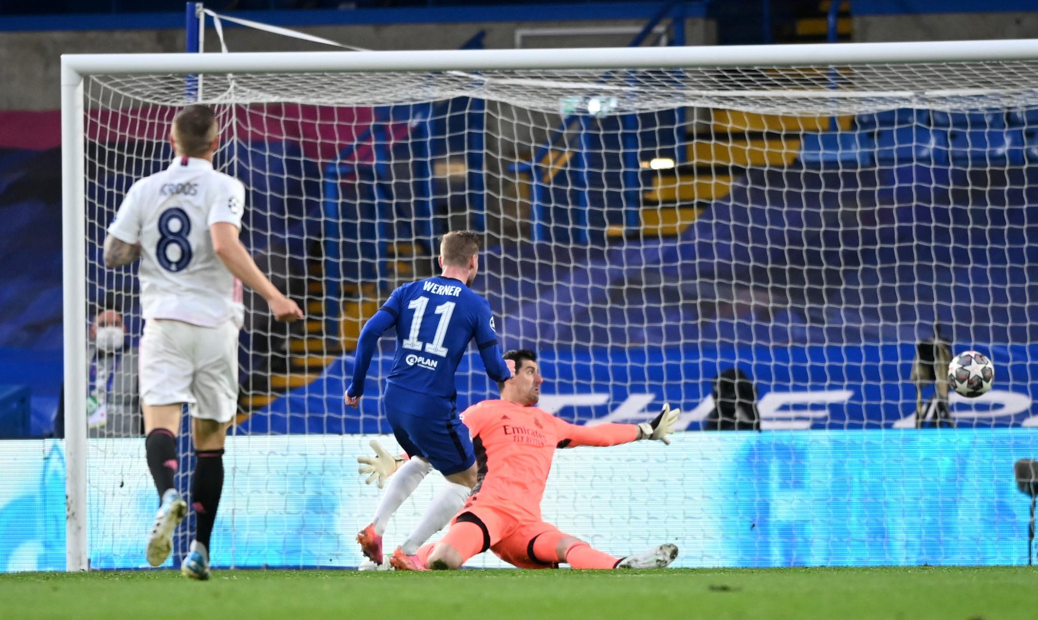 El gol anulado a Werner