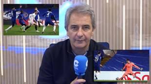 """""""El Chelsea era un equipo y el Real Madrid un grupo de futbolistas que..."""""""