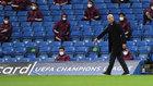 Zinedine Zidane, durante el partido de Stamford Bridge.