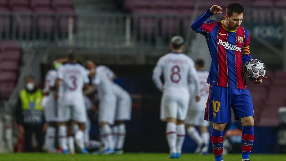 El PSG planea la próxima temporada contando con Messi