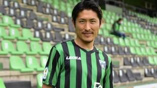 Daiki Niwa, nuevo jugador del Sestao River.