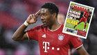 David Alaba, durante un partido con el Bayern de Munich
