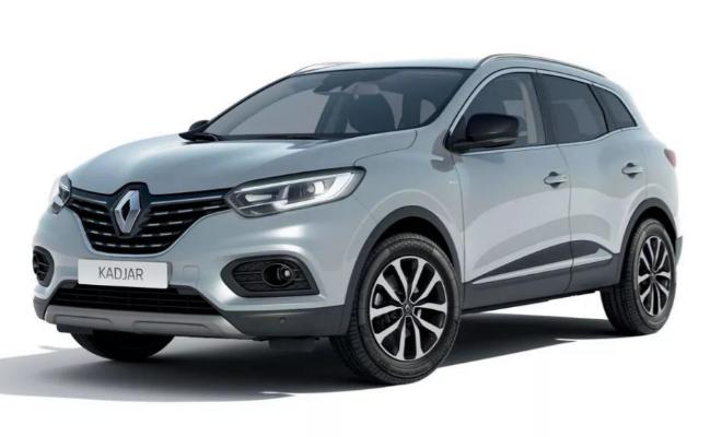 Renault Kadjar con el acabado Limited 2021.