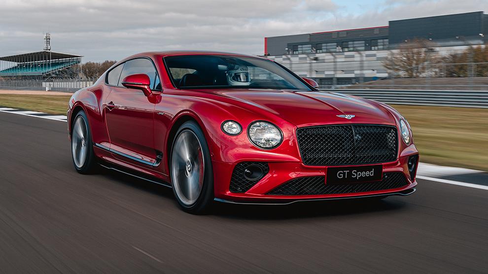 El circuito de Silverstone es un escenario ideal para este Bentley.