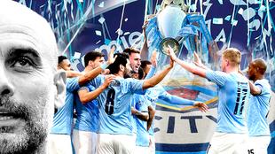 Manchester City, campeón de la Premier.