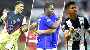 Monterrey, Cruz Azul y América