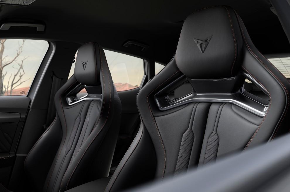 Cupra Formentor VZ5 -390 CV - deportivo - SUV - cinco cilindros - asientos CupBucket