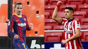 Griezmann and Suarez