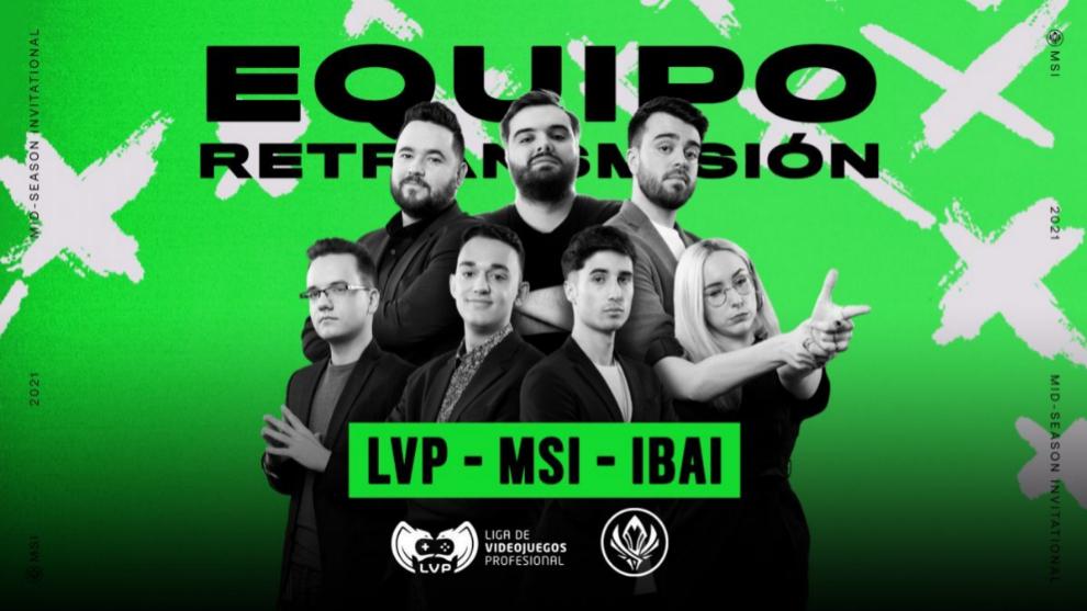 El equipo de narración de la LVP