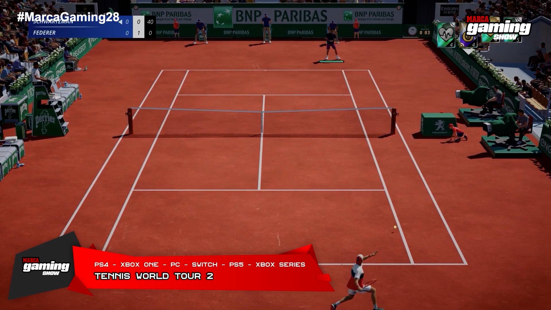Tennis World Tour 2 (PS5, Xbox Series)