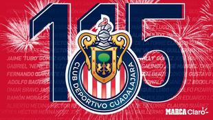 Chivas, 115 aniversario