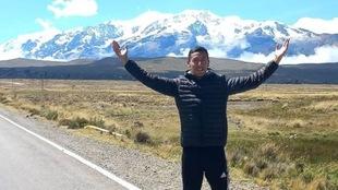 Jesús Tadeo Vega entrena en Bolivia para buscar la marca a Tokyo...