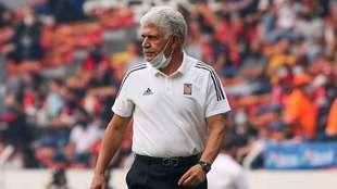Ferretti, en su último duelo al mando de los Tigres.