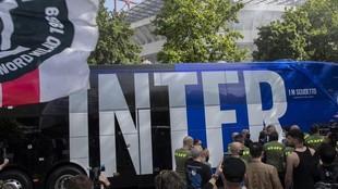 El autobús del Inter de Milán.