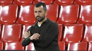 Diego Martínez, durante un partido de esta temporada.