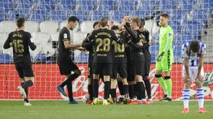 El Barcelona consiguió en San Sebastián su victoria más holgada de...