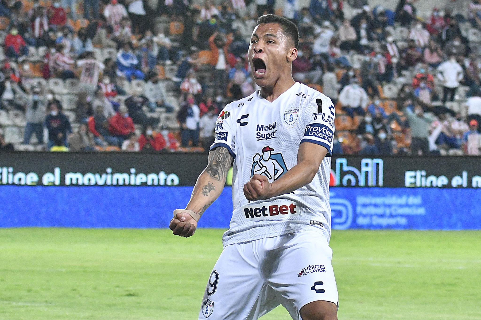 Roberto de la Rosa anotó dos goles para la causa hidalguense