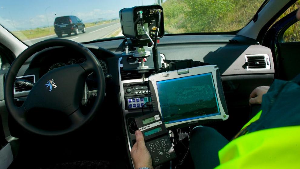 DGT - Radar movil - Multas - Campaña de intensificacion de controles de velocidad