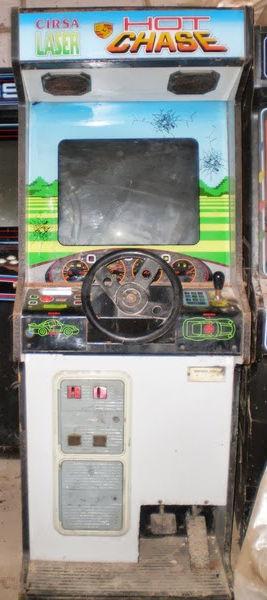 Hot Chase, arcade de 1988