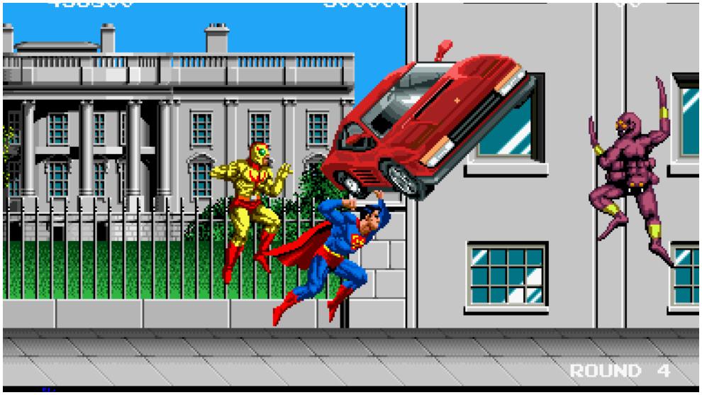 Superman Arcade, Taito (1989)