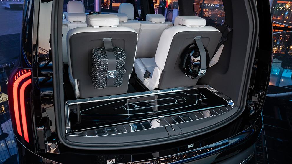 Mercedes EQT, high-end based on the van m