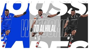Moussa Marega, nuevo jugador de Al-Hilal.