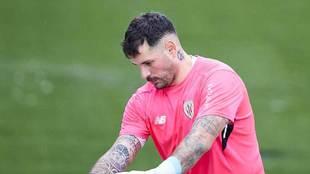 Iago Herrerín abandonará el Athletic a final de temporada.