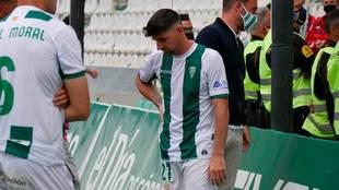 Jugadores del Córdoba, desolados