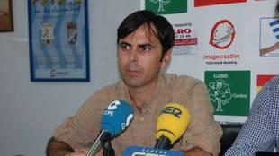 Pedro Garrido, presidente del Jerez Industrial