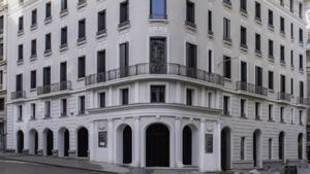 Antiguo Hotel Roma en la Calle Gran Vía número 18 de Madrid