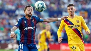 Morales Lenglet Levante Barcelona LaLiga
