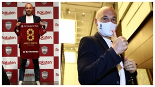 Iniesta agrees two-year contract extension at Vissel Kobe.