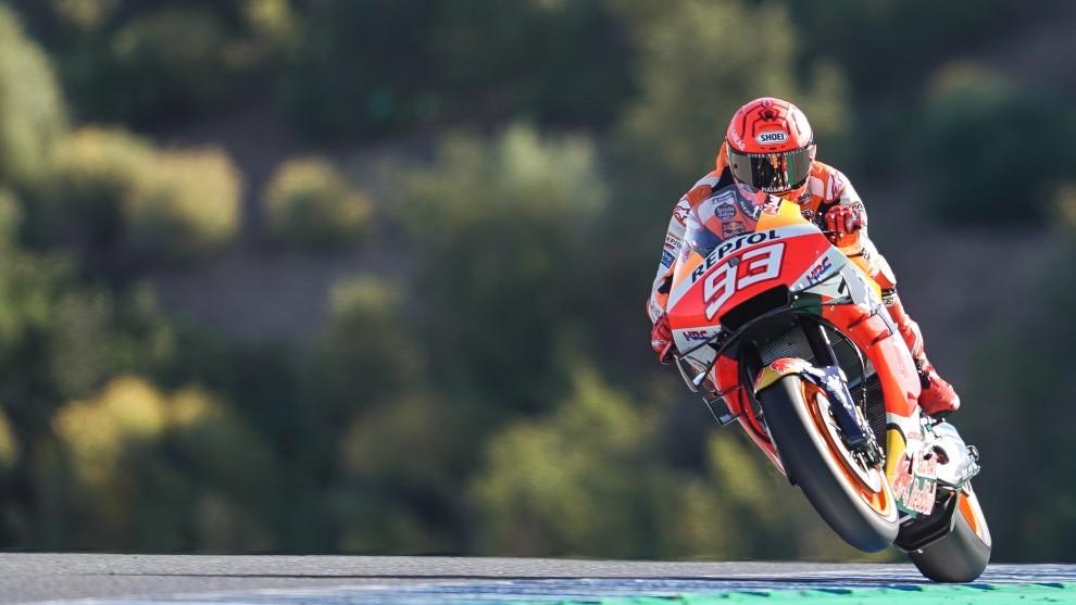 """A Márquez se le da bien Le Mans: """"Voy estando más fuerte"""""""