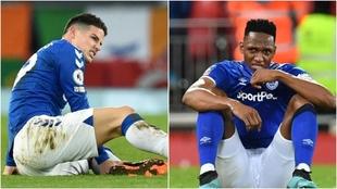 Dos fotos diferentes en dos partidos distintos con el mismo resultado:...