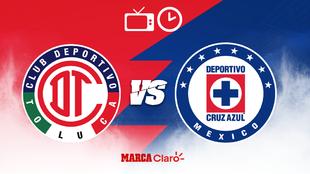 Toluca vs Cruz Azul en vivo