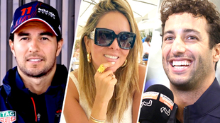 Paola Pérez ha expresado lo bien que le cae el piloto australiano