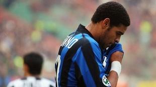 Adriano at Inter