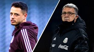 Chicharito Hernández y Gerardo Martino, aún ausentes.