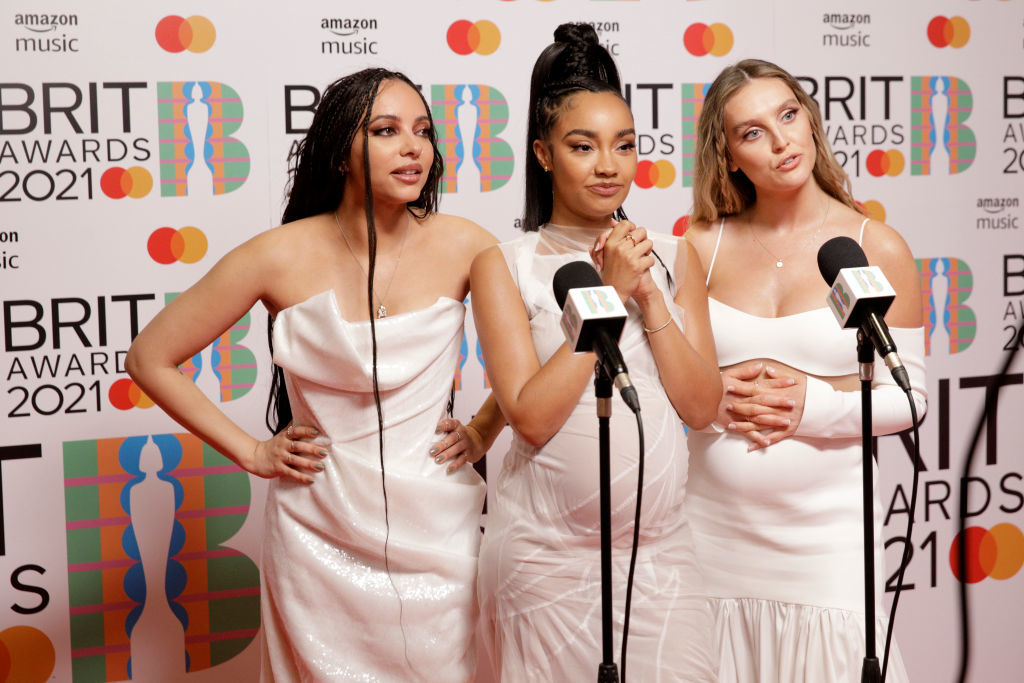 Jade Thirlwall, Leigh-Anne Pinnock y Perrie Edwards componentes de Little Mix