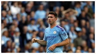 Aymeric Laporte, con el Manchester City